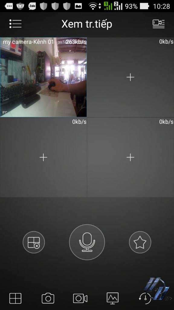 Đã Xong, bắt đầu xem video trên camera thôi