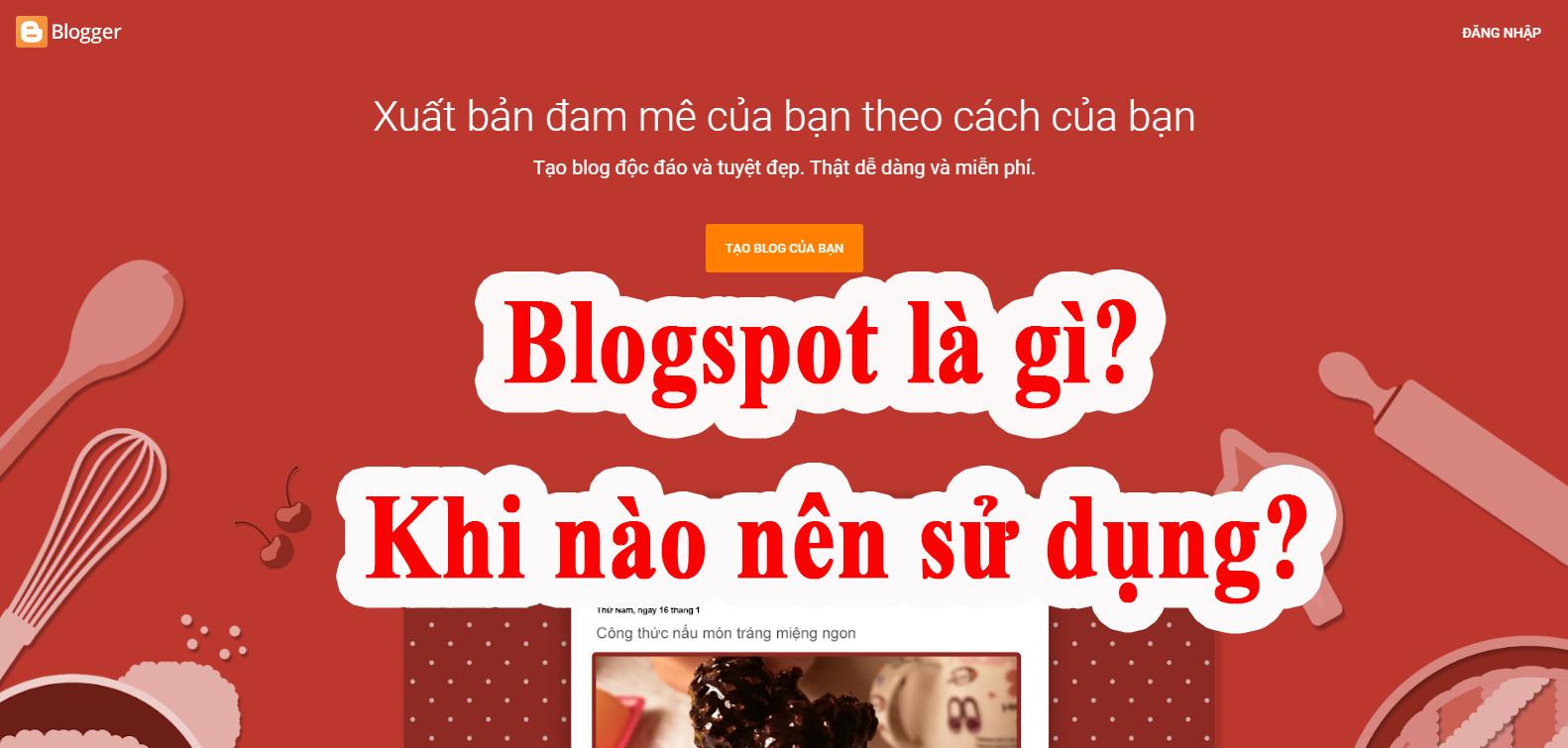 blogspot-la-gì