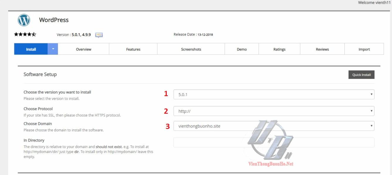Lựa chọn giao thức truy cập website