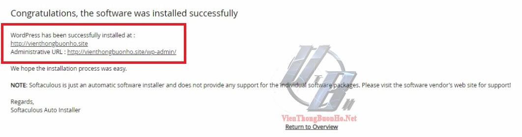 Link truy cập website và trình quản lý