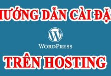 Cài đặt wordpress trên hosting